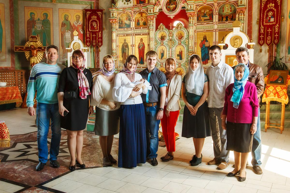 Фотограф на крещение Кемерово