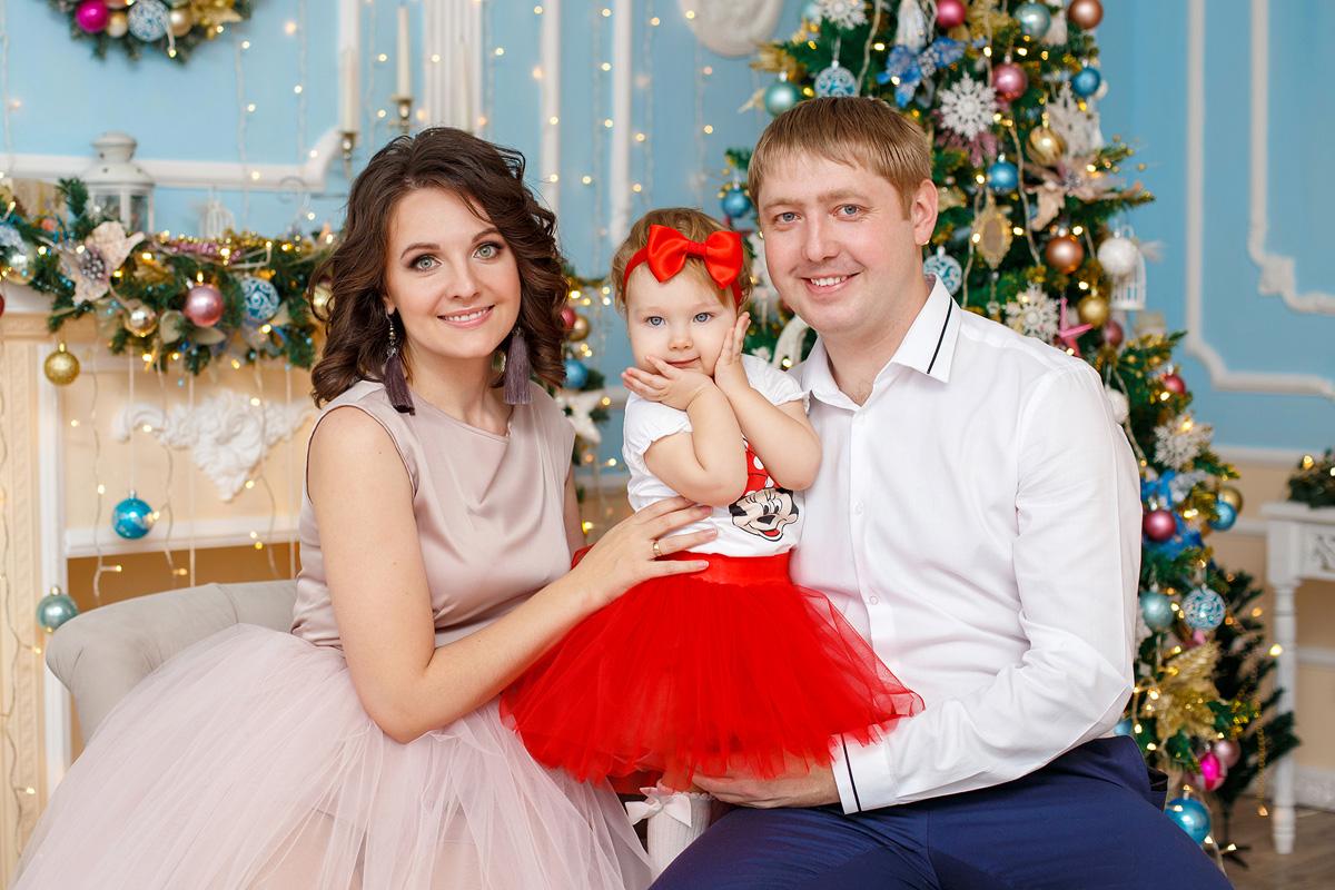 Новогодняя фотосессия Кемерово
